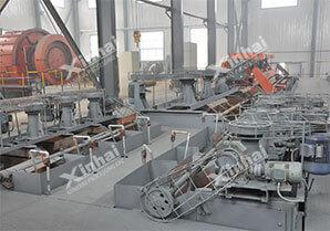 Xinhai flotation process