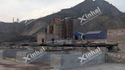 المشروع بالفصل الخاذبية للذهب 100طن يوميا في منغوليا الداخلية