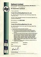 EU Certification1