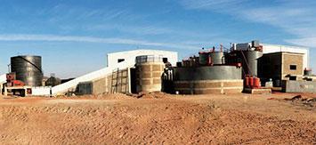 مشروع إعادة الإعمار لشين هاي: المناجم الحديدية