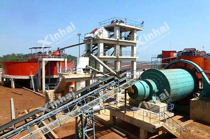 خط الإنتاج لاستخراج خامات النيكل